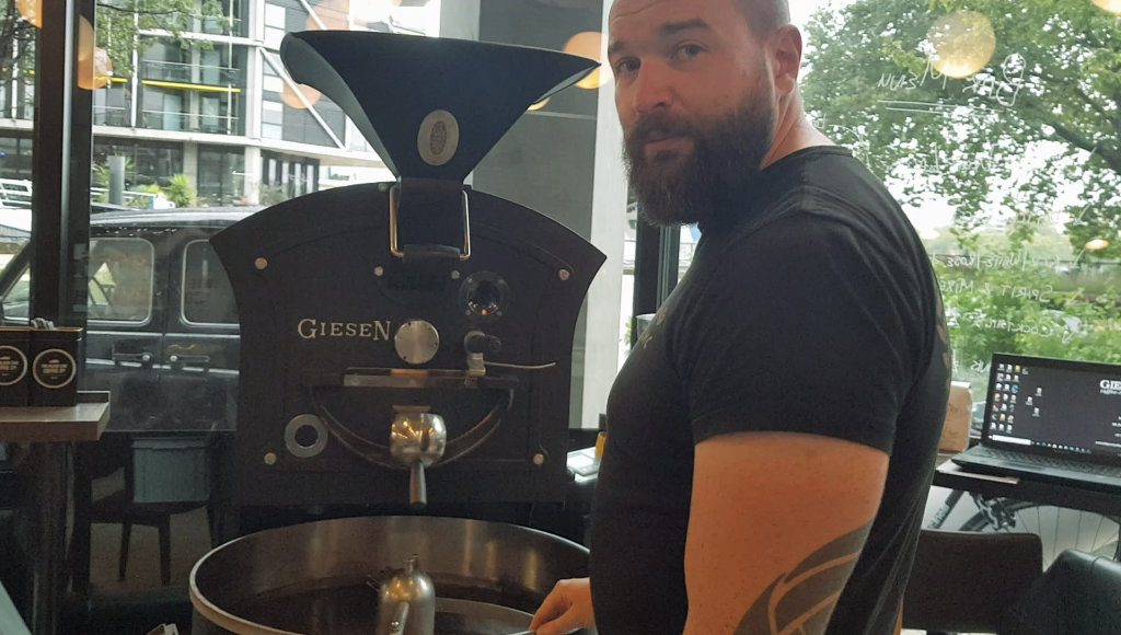 Coffee roasting in London