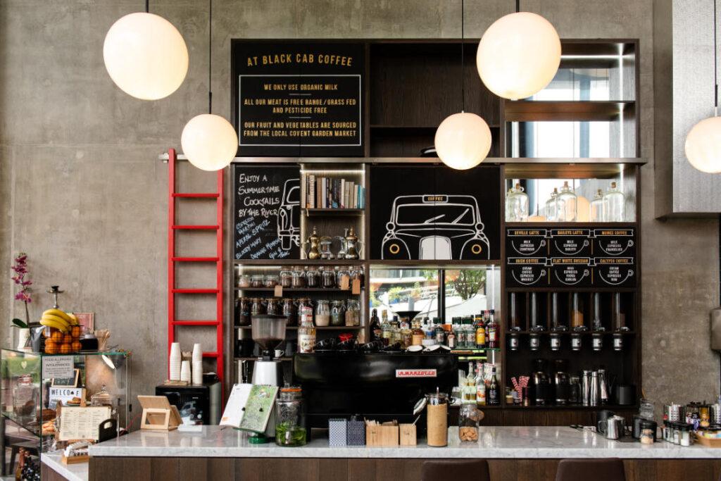 Nine Elms Coffee Shop